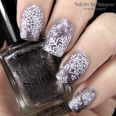 Nail Art by Belegwen: Perfect Sand Lacquer s68
