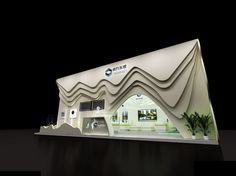 Exhibition area 9X12 3DMAX2009-1178