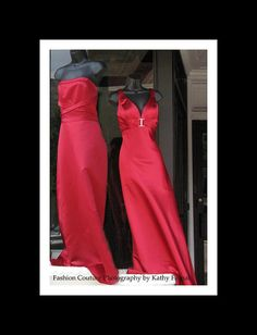 Red Fashion Couture Photos