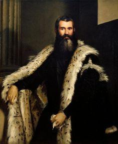 Portrait of a Nobleman, 1565, by Paolo Veronese (Paolo Caliari) (Italian, Venetian, 1528–1588)....oil on canvas, Firenze, Palazzo Pitti