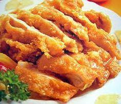 Fried Chicken in Lemon sauce Only R45.00  Long Fen Chinese Restaurant 044-690 5570