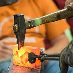 Blacksmith-Tongs-and-Hammer