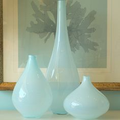 Beautiful color 'Oona' vases $480 (for 3)