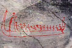 Rock carvings Norway