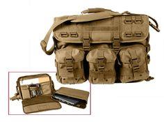 MOLLE Tactical Laptop Briefcase