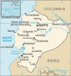Map of ecuador ecuador south america ecuador map mapa de ecuador in ecuador most people speak spanish however some of the indian population speaks quichua gumiabroncs Image collections