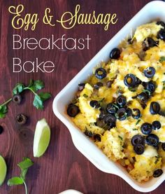 Egg & Sausage Breakfast Bake made with Jack Link's Wild Side Sausage. Toss out the boring sausages and give your breakfast a bold boost.