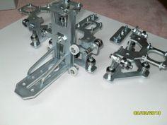 DIY железнодорожных вагонов и Z оси для NEMA 23 ШАГОВЫХ двигателей для CNC и плазменный резак