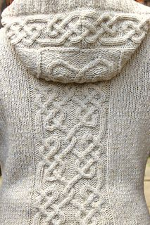 Ravelry: Rievaulx pattern by Ann Kingstone Rievaulx features stunning cables based on the knotwork of an Century stone carving in St Bartholomew's Church, West Witton, Wensleydale. Cable Knitting Patterns, Knitting Stitches, Knitting Designs, Knit Patterns, Knitting Projects, Hand Knitting, How To Purl Knit, Knit Or Crochet, Crochet Clothes