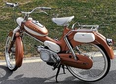 Moped Scooter, Motorcycle, Vehicles, Biker, Classic, Derby, Motorcycles, Car, Classic Books