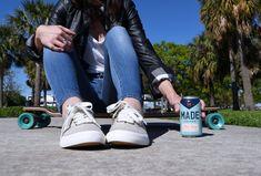 Made Nitro Brew fuels your grind faster. Guatemala Coffee, Liquid Nitrogen, One Upper, Cold Brew, Adidas Stan Smith, Warm Weather, Brewing, The Originals, Fashion