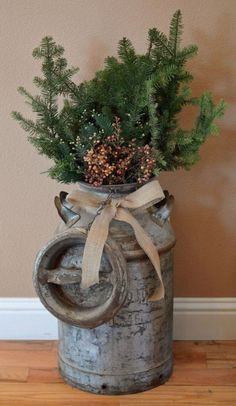 38 Marvelous Rustic Farmhouse Christmas Decor Ideas, Bring The Natural Festive To Your House - GoodNewsArchitecture