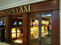 Cinema XXi in Plaza Senayan. While you are PS you can try monolog coffee (beautiful) or hacienda (some of the only mexican, but expensive), or union brasserie.