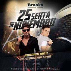 Brook's SP | Rodrigo Rios + Alessandro Maia Acesse o site e coloque seu nome na lista: http://www.baladassp.com.br/balada-sp-evento/Brooks-SP/647 Whats: 11 95167-4133