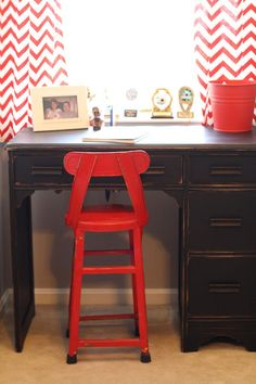 Primitive & Proper: Sawyer's New Desk and Dormer Nook Update