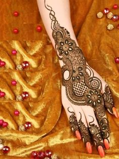 The World's Top Fashion Trends With Top Fitness Models Kashee's Mehndi Designs, Pretty Henna Designs, Full Hand Mehndi Designs, Mehndi Design Pictures, Wedding Mehndi Designs, Beautiful Mehndi Design, Mehndi Images, Nail Designs, Rangoli Designs