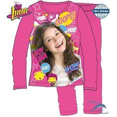 Pijama de SOY LUNA DISNEY algodón de alta calidad en CAJA