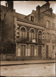 The birth house of St Therese, Saint-Blaise Street, Alençon, France.