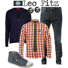 """""""Leo Fitz - Agents of Shield"""" by marybethschultz on Polyvore"""