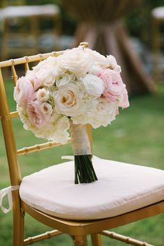 pink + white bouquet   Akil Bennett #wedding