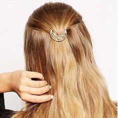 HAARSPANGE zwei Farbig Wellen Haarschmuck Kopfschmuck  Neu
