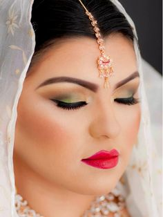 Sacha Indian bridal makeup