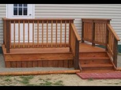 Best How To Build A Four Step Porch For A Mobile Home Outside 400 x 300