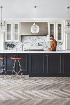 Trendy Home Design Black Dreams Ideas Kitchen Remodel, House Design, Kitchen Interior, Kitchen Decor Inspiration, Interior Design Kitchen, Interior Design, Home Decor, House Interior, Trendy Home