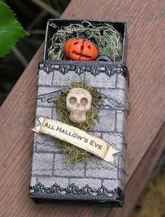 halloween matchbox craft