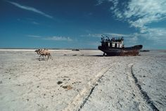 世界第4位の広さを誇った湖「アラル海」がほぼ消滅(※画像あり) 有害物質をまき散らす砂漠に