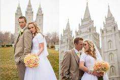 SLC Temple wedding | Hilary Briscoe Photography