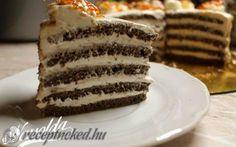 Kastély torta recept fotóval