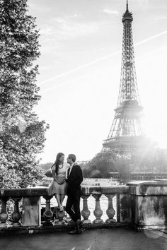 """The Tour Eiffel is truly a symbol of Paris. It is the most identifiable function of the city and, in reality, the world. Located in the arrondissement, the Eiffel Tower was a marvel of """"modern-day"""" engineering. Eiffel Tower At Night, Paris Eiffel Tower, Tour Eiffel, Eiffel Tower Restaurant, Paris Engagement Photos, Triomphe, Champs Elysees, France, Eiffel Towers"""