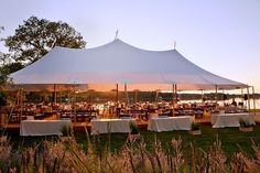 Sailcloth tent roof