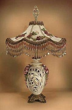 I love this lamp.  Very pretty!