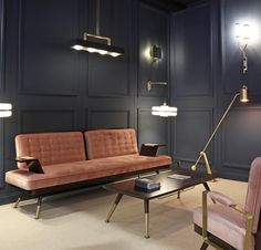 london - We're delighted that the Bert Frank furniture collection will be back on display in our showroom in time for London Design Week 🔜 Interior Display, Decor, Hotel Decor, Art Deco Interior, Hotel Room Design, Modern Furniture, Parisian Interior, Home Decor, Home Deco