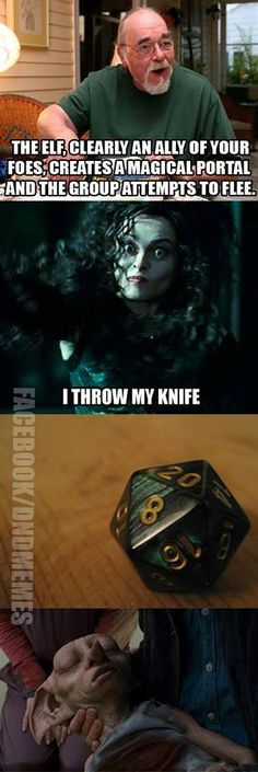 Dungeons and Dragons Memes Troll, Dnd Funny, Dungeons And Dragons Memes, Dragon Memes, Funny Memes, Hilarious, Geek Humor, Harry Potter Memes, Fantasy