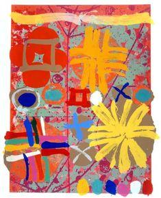 pinkpagodastudio: High Voltage Color: British Painter, Albert Irvin