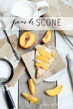 Peach Scone- Place Of My Taste for The 36th Avenue-