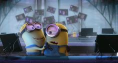 Check out all the awesome minion gifs on WiffleGif. Including all the despicable me gifs, minions gifs, and humour gifs. Gif Minion, Amor Minions, Minion Humour, Minions Quotes, Minions Cartoon, Minion Stuff, Image Minions, Minions Images, Funny Minion Pictures