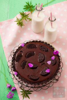 Bardzo prosta tarta czekoladowa bez pieczenia! - Lawendowy DomLawendowy Dom