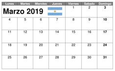 Calendario Marzo 2019 Argentina Periodic Table, Friday, Calendar, Argentina, Periodic Table Chart, Periotic Table