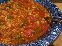 Weight Watchers Stuffed Pepper Soup recipe – 3 points