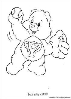 Bear Coloring Pages For Kids Sheets Books Owl Winnie The Pooh Hobby Craft Stuff Retro Party Tweety