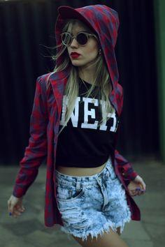 swag nigga cropped cap girl style hip hop www.kaffka.com.br