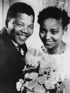 "Nelson and Winnie are no longer together, but that doesn't take anything away from their impact on their native South Africa and on the world. In what would be Nelson's second marriage, he wed Winnie in 1958 and was sent to prison in 1962. Winnie stayed devoted to Nelson throughout much of his 27-year prison sentence, but the couple separated in 1992, two years before Nelson became president of South Africa. Winnie, a polarizing, controversial activist who is affectionately referred to as ""mo..."