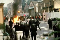The Moss-side riots, Manchester, 1981: As the Thatcher government unveiled its program of denationalisation and assaults on the Trades Union movement got underway, a fixed feeling of hopelessness began to creep into many city provinces as the realisation among the nations young settled was that they had no employment prospects for the foreseeable future.