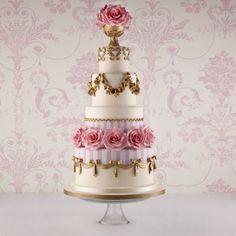 Fortnum & Mason Marie Antoinette Wedding Cake