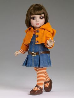 Effanbee 10 In. Play Date Patsy  Doll, 2014 Tonner Design #Effanbee #Dolls is offered for sale in an Ebay Buy-It-Now listing.