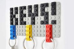 DIY LEGO Key Hangers - Felix Grauer Creates a Playful Project for the Home (GALLERY)